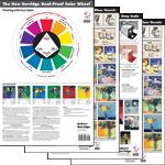 Combo Set: Goof-Proof Color Wheel + 3 Studio Charts