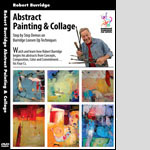 Abstract Painting and Collage DVD