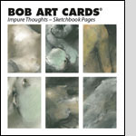 BobArt Cards - Impure Thoughts Sketchbook Pages (NEW)
