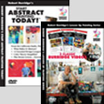 Robert Burridge's Loosen Up Painting Series DVD